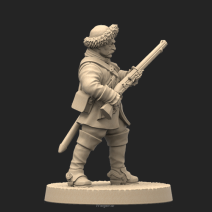 Metal miniatures (28 mm scale)