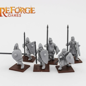CITY MILITIA WITH SPEARS