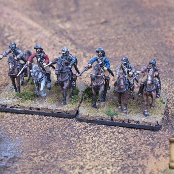 Imperial cuirassiers in armor