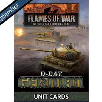 FW263U D-Day: Germans Unit Cards