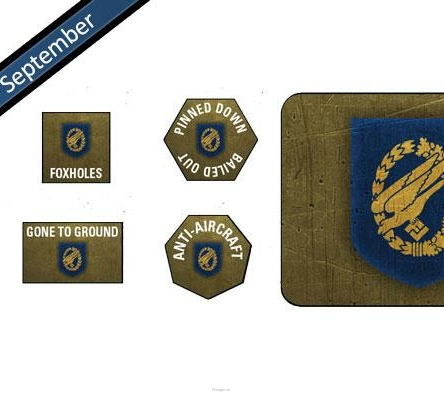Fallschirmjager Tokens & Objectives