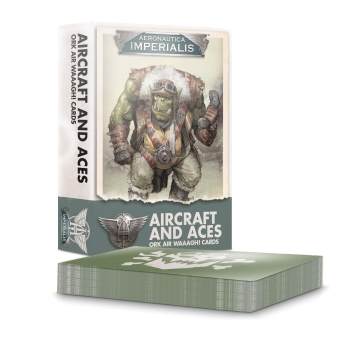 Aeronautica Imperialis: AIRCRFT & ACES: ORK AIR WAAAGH! CRDS