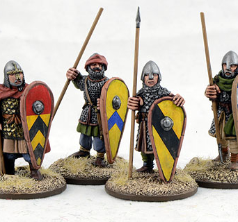 Dismounted Spanish Knights Four (4)