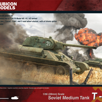 T34/76 - early and mid war