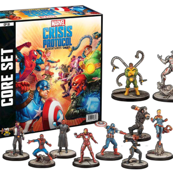 Marvel: Crisis Protocol - Miniatures Game Core Set