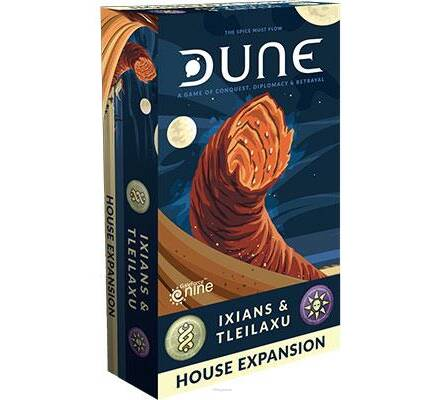 DUNE: Ixians and Tleilaxu House Expansion - wersja PL