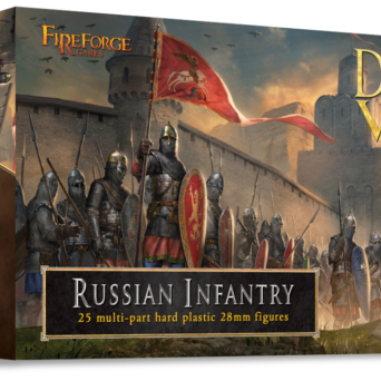Medieval Russian Infantry