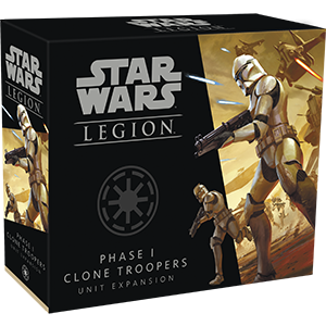 SW Legion: Phase I Clone Troopers