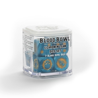 BLOOD BOWL: LIZARDMEN TEAM DICE SET