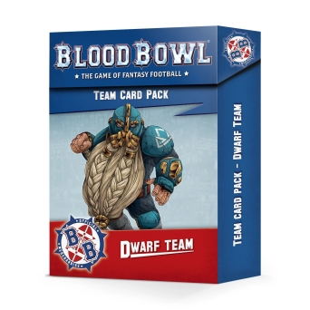 BLOOD BOWL: DWARF TEAM CARD PACK