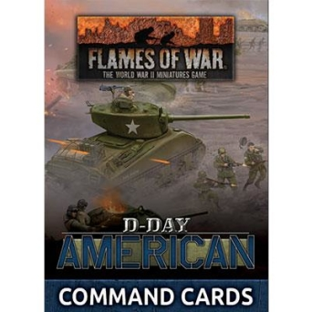 D-Day: American Command Cards