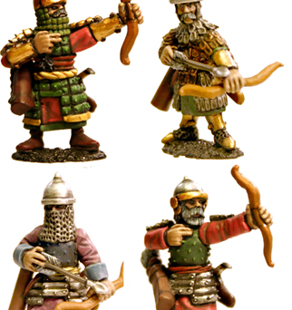 Dismounted Timurid Cavalry (Bows)