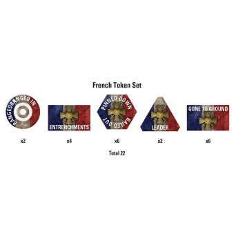 Great War – French Token Set