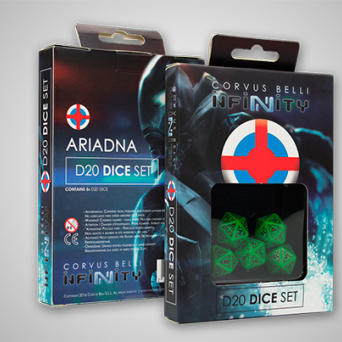Ariadna Dice Set(5)