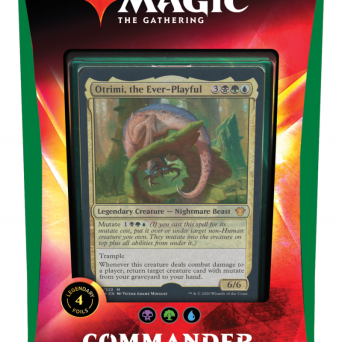 Talia Commander 2020 Enhanced Evolution UBG