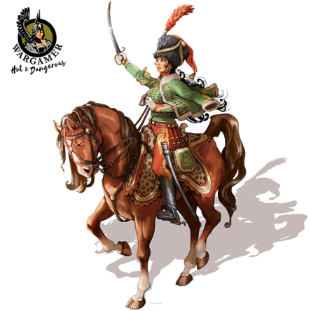 Victoria, the French Hussar (54 mm)