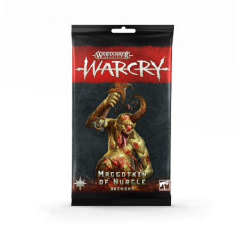 WARCRY: NURGLE DAEMONS CARDS