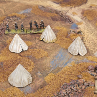 TER-28 Eastern style military tents 2