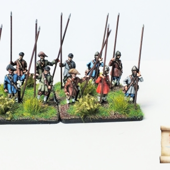 New type mercenary infantry - pikemen
