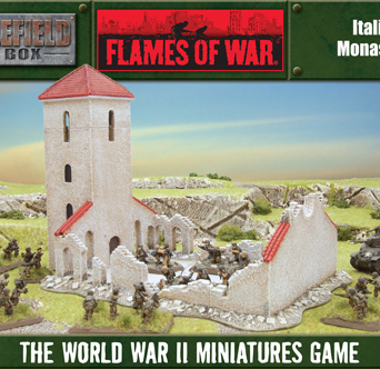 Battlefield in a Box - Italian Monastery