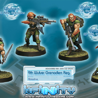 9th Wulver Grenadiers Regiment 0420