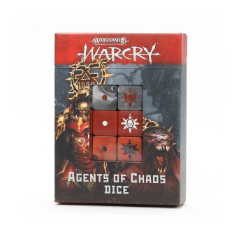 WARCRY: AGENTS OF CHAOS DICE