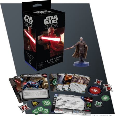 SW Legion: Count Dooku Commander Expansion