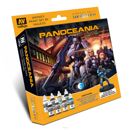 Model Color Set: Infinity Panoceania Exclusive Miniature