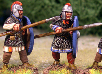 Armoured Arthurian Regular Spearmen