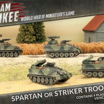Spartan or Striker Troop