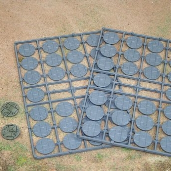 25mm Paved Effect Bases