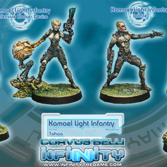 OOP Kamael Light Infantry