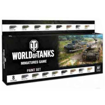 World of Tanks Paint Set
