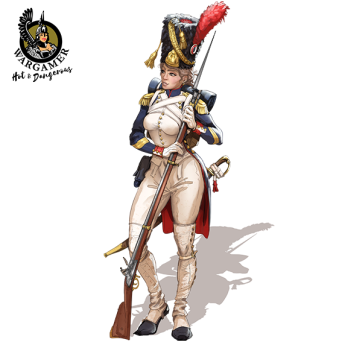 Celine, the Old Guard Grenadier (28 mm)