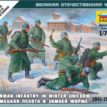 German Infantry In Winter Uniform 1941-1945