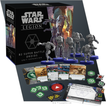 SW Legion: B2 Super Battle Droids Unit Expansion