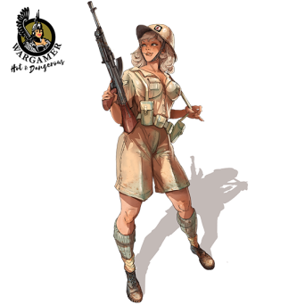 Emma, the Desert Rat (28 mm)