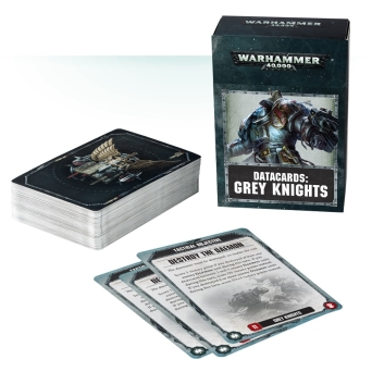 DATACARDS: GREY KNIGHTS (ENGLISH)