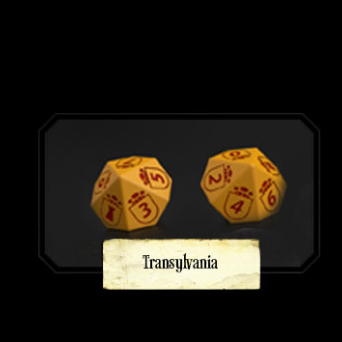 Set of Transylvanian Dice