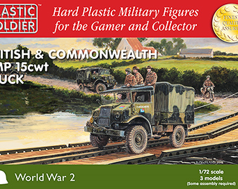 1/72nd British and Commonwealth CMP 15cwt trucks