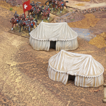 TER-26 Eastern style military tents big