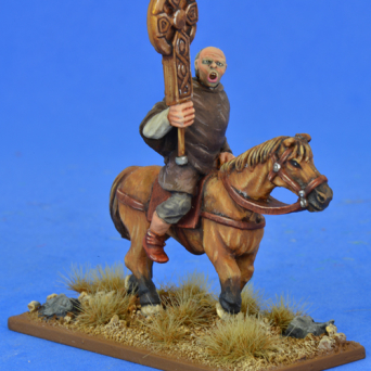 Mounted Celtic Christian Priest