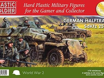 1/72nd Easy Assembly German Sdkfz 251 Ausf C Half track