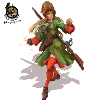 Natasha, the Russian Grenadier (28 mm)