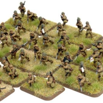 JP702 Hohei Platoon, with three squads, Hohei Chutai