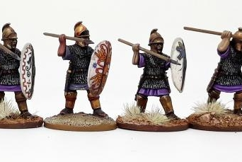 Carthaginian Hearthguards on Foot