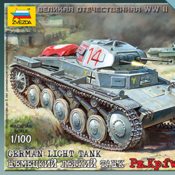 German Light Tank PzKpfw II