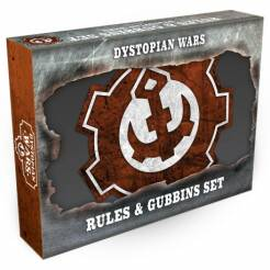 Dystopian Wars Rules & Gubbins Set - English