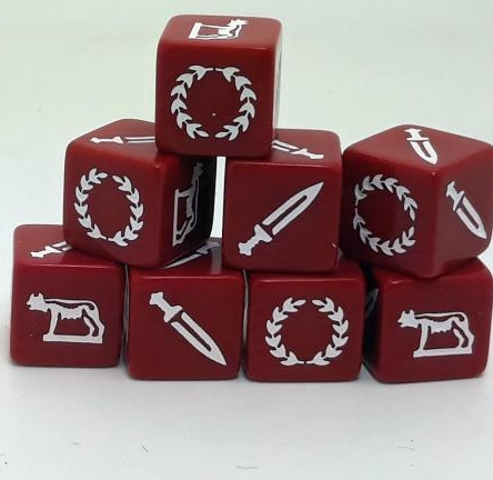 Age of Hannibal Republican Roman Dice