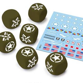 U.S.A. Dice and Decals